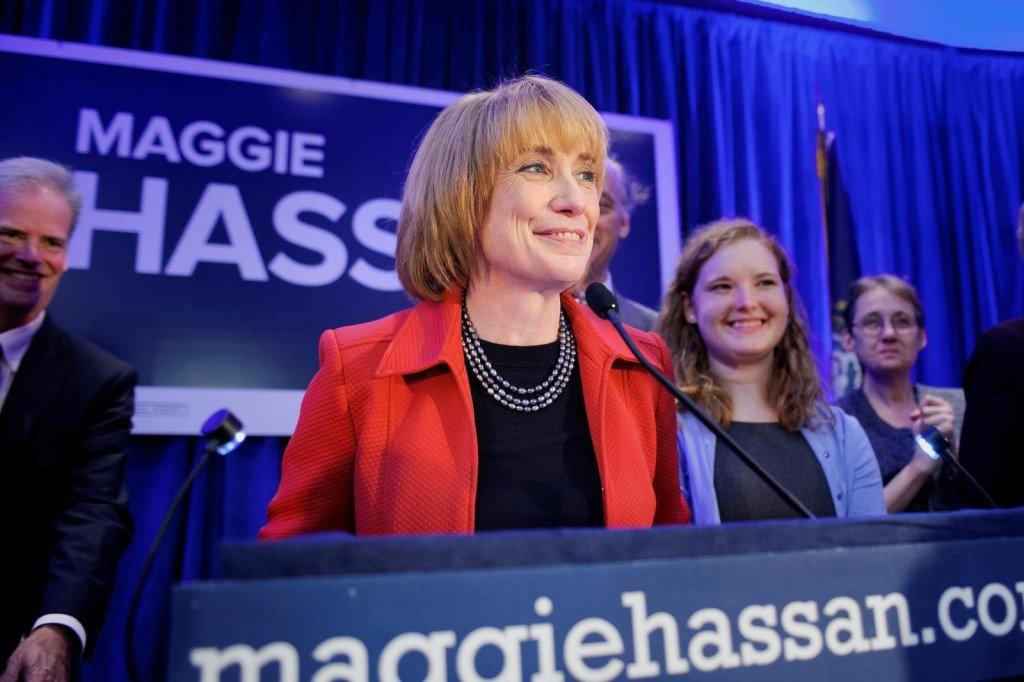 "New Hampshire Gov. Margaret ""Maggie"" Hassen"